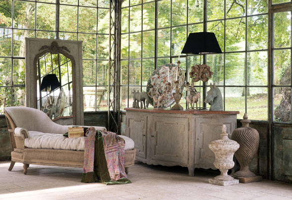 Maison du monde chambre romantique avec des - Chambre romantique maison du monde ...